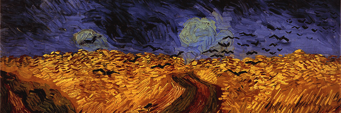 Wheatfield With Crows (detail), Vincent Van Gogh