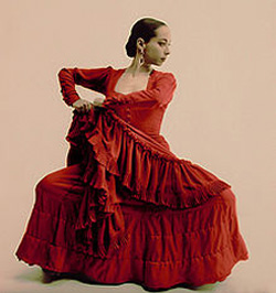 Belén Maya, flamenco dancer