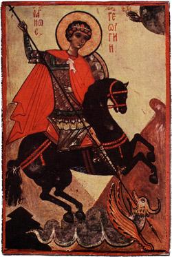 Eastern Orthodox icon: St George